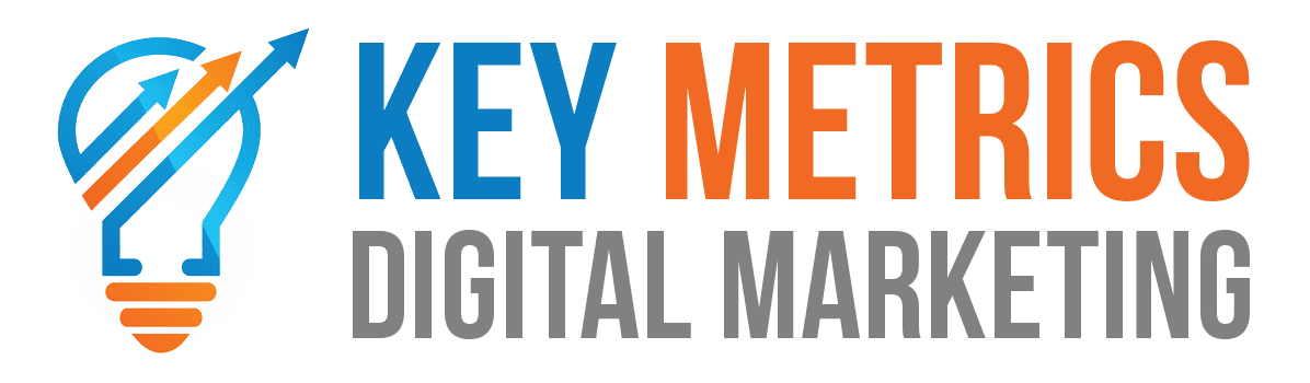 Key Metrics Digital Marketing Logo light
