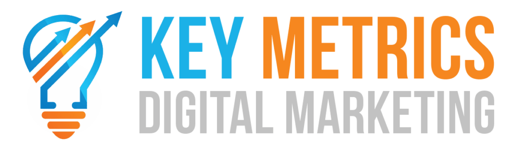 Key Metrics Digital Marketing Light Logo