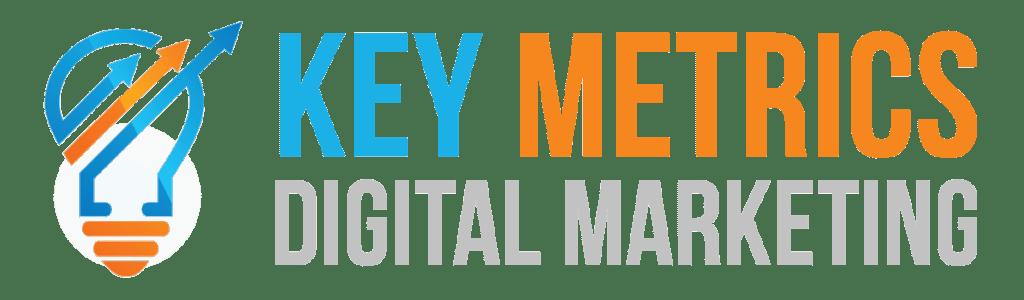 Key Metrics Digital Marketing Light Logo