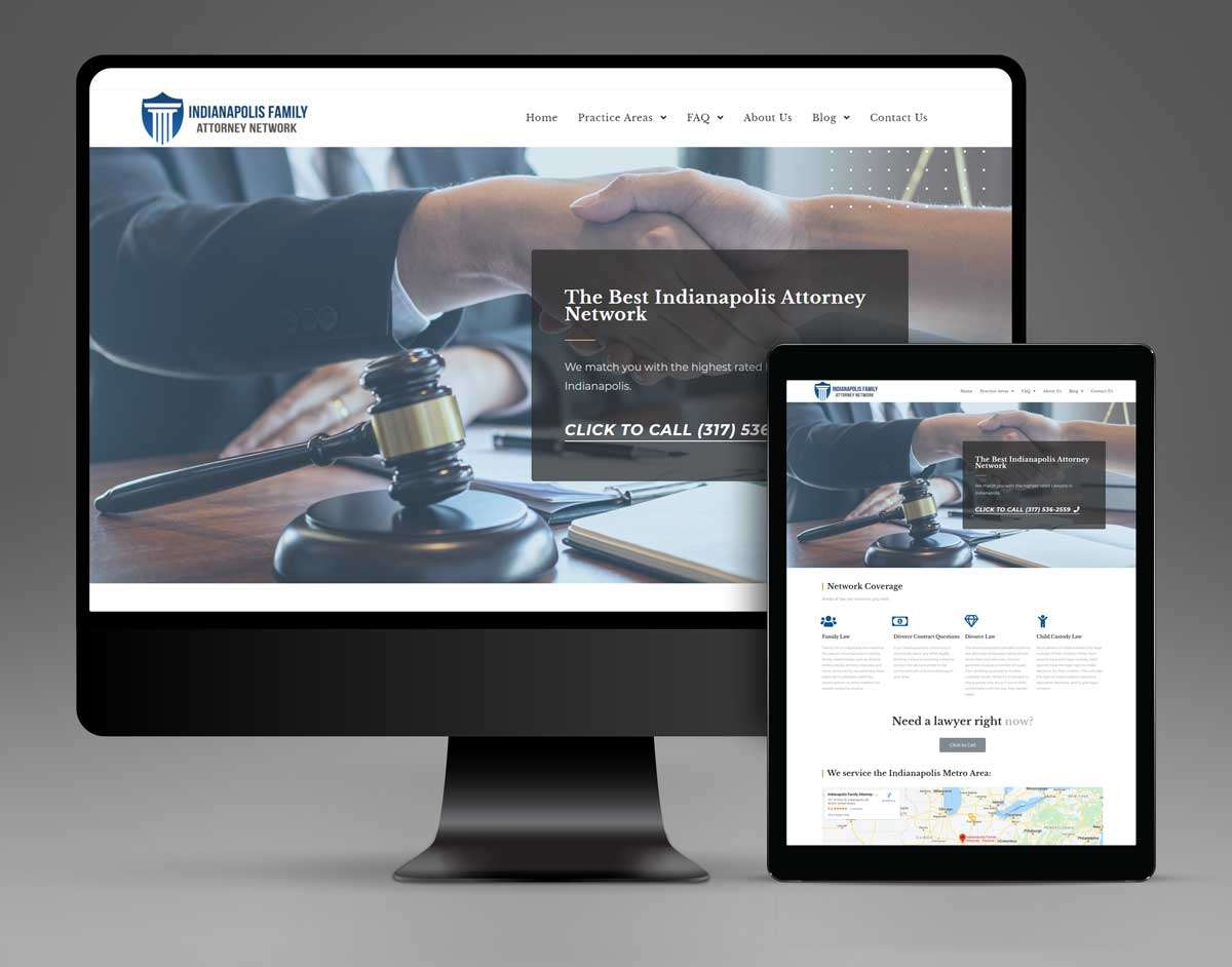Indiana Law Firm Online Marketing