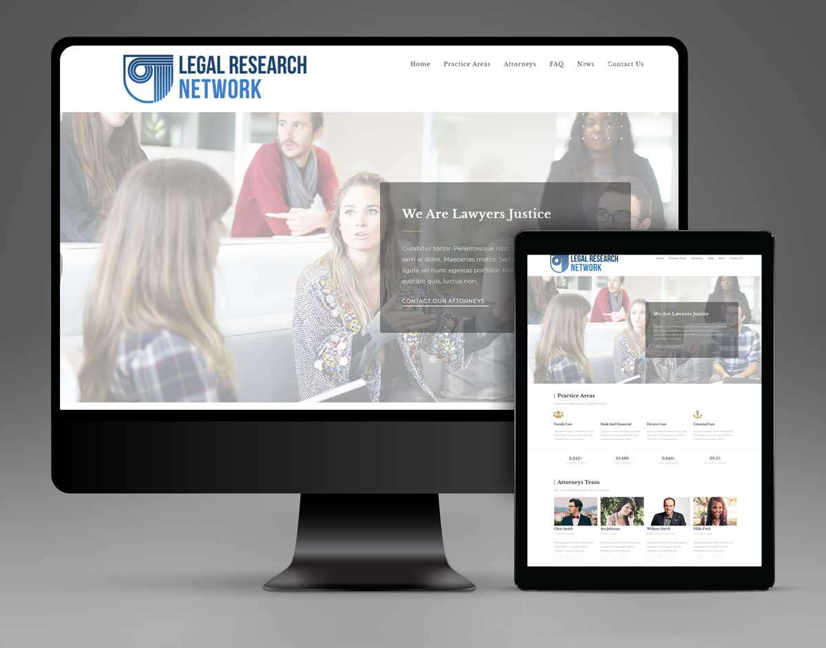 Law Firm Website Company